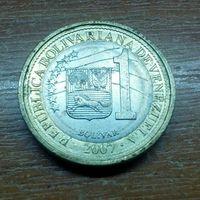 Венесуэла 1 боливар 2007
