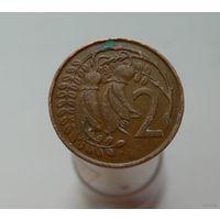 2 цента 1967 Новая Зеландия