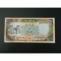 Судан, 10 фунтов 1991 год,  UNC-