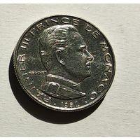 Монако 1/2 франка, 1982 5-1-58