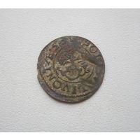 Шиллинг 1653г. Кристина Августа Ваза - Ливония (все с 1 руб.).