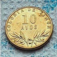 Тимор 10 авос 1945 года. Колония Португалии. Инвестируй в историю!