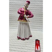 Большая С 1 рубля статуэтка фарфор, Дулево Танцующая Девушка