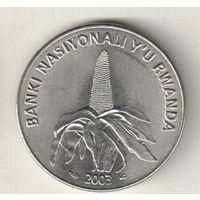 Руанда 50 франк 2003
