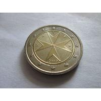 2 евро, Мальта 2010 г., UNC !!!