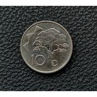 10 центов Намибии 2012 год
