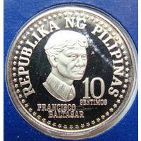 Филиппины 10 сентимо 1979 г