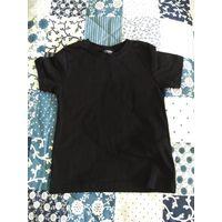 Новая черная футболка wikiki