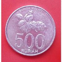 62-03 Индонезия, 500 рупий 2003 г.
