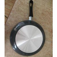 Сковорода новая 24см. с антипригарным покрытием