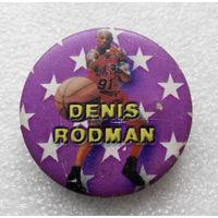 Значок. Баскетбол. Денис Родман #0398