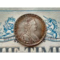 Монета РИ, 1 рубль 1778.