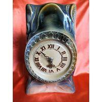 Часы настольные, керамика Польша