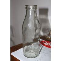 Ретро СССР!!! Бутылка из-под молока. 0,5. 1986 год.