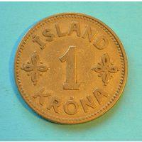 1 крона 1940. Исландия