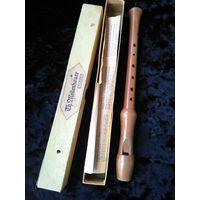 Флейта деревянная учебная .Старая Германия.33 см.