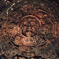 Ацтекский камень солнца. Календарный камень. (календарь майя)