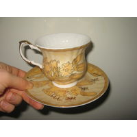 Чайная пара Yamasen Золотая коллекция 24 gold Япония
