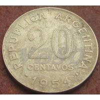 5043:  20 сентаво 1954 Аргентина