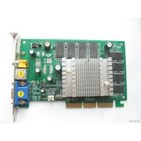 AGP 8x Nvidia  GF4 MX4000 64/64