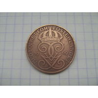 Швеция 5 эре 1909г.km779.2