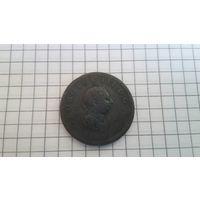 1 пенни Георг 3 1806 год