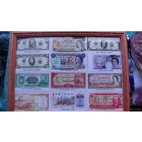 Картина из сувенирных денег. No4 распродажа
