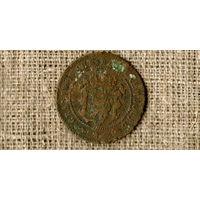 Люксембург 5 сантимов 1857 /(N)