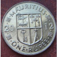 5478: 1 рупия 2012 Маврикий