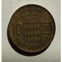 Монако 10 франков, 1951 5-1-63