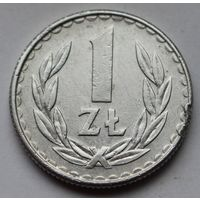 Польша, 1 злотый 1986 г.