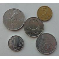 Набор монет 1 /цена за все/