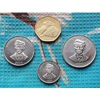 Гаити набор монет  5, 20, 50 сантимов, 1 гурд. UNC.