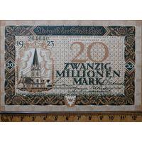 20 миллионов марок 1923г. Киль