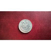 Польша 20 грошей, 1976