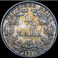 1/2 марки 1912 J