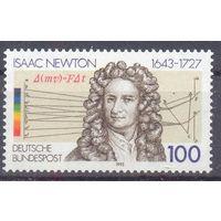 Германия 1993 наука Ньютон
