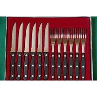 Набор Ножи +вилки  ( Германия , Rostfrel - Inox )