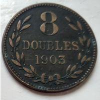 Гернси 8 дублей, 1903 1-9-13
