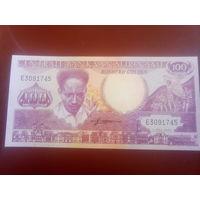 Суринам 100гульденов 1986г.
