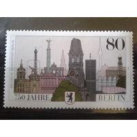 Берлин 1987 750 лет Берлину, герб Михель-2,4 евро