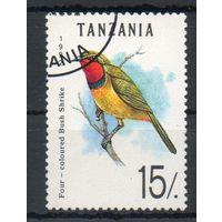 Фауна Птицы Танзания 1986 год 1 1 марка