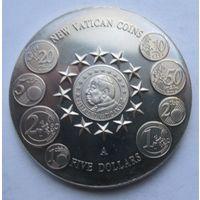 Либерия, 5 долларов, 2004