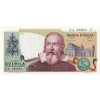 Италия, 2000 лир обр. 1983 г., UNC