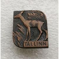 Таллин. Эстония. Косуля. Города Прибалтики. Тяжелый металл #1587-CP26