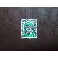 Французский Алжир 1947 г.Герб города Орана.