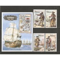 КТ Багамы 1987 Корабли Пираты