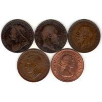 5 монет в 1 пенни (Великобритания)