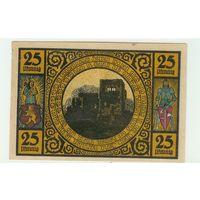 Германия, нотгельд 25 пфеннигов 1921 год.