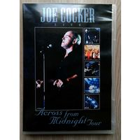 DVD. Joe Cocker. Live. Across From Midnight Tour.